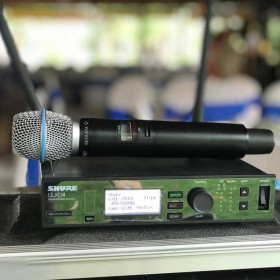 Micro Shure ULXD-SLX-BLX